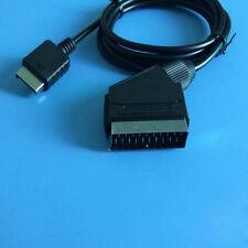 6 ft For Sony Playstation 2 PS2 PS3 RGB 1.8M Scart TV AV Lead AV Cable