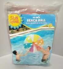 Sun Shine 48 Inch Multicolor Beach Ball New
