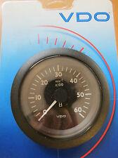 VDO GAUGE TACH w/ HOURMETER 6000 R 12 / 24 V  #V3331104