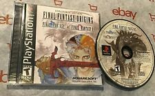 Final Fantasy Origins:  Remastered Editions 1 & 2 (PS1 Complete)