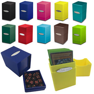 ULTRA PRO SATIN TOWER DECK BOX CARD STORAGE FOR YUGIOH!, MTG, POKEMON, YUGIOH