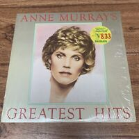 "Anne Murray's Greatest Hits 12"" 33rpm Capitol EMI 1980 Vinyl in Original Shrink"
