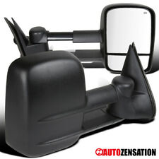 For 99-02 Chevy Silverado/ Gmc Sierra Towing Trailer Power Heated Side Mirrors