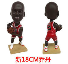 Basketball star MICHAEL JORDAN # 23  Doll Bobble Head Figure Toys Articlesl18CM