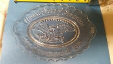 """avon bicentennial glass dish-9"""""""