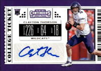 2019 Panini Contenders Draft Football Rookie Autograph Singles (Pick Your Cards)