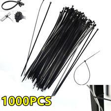 "1000 Pcs 12"" Nylon Plastic Zip Trim Wrap Cable Loop Ties Wire Self Lock Us Stock"