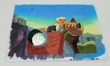 Cadillacs And Dinosaurs Animation Cel, Sketch & Background Of Mustapha Cairo #18