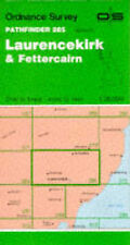 Laurencekirk and Fettercairn (Pathfinder Maps)-ExLibrary