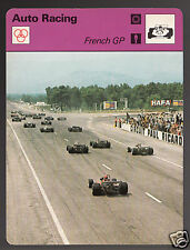 FRENCH GRAND PRIX Paul-Ricard Circuit Auto Racing 1978 SPORTSCASTER CARD 18-17