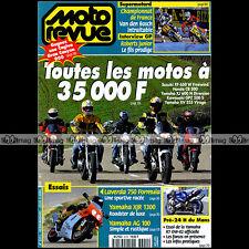 MOTO REVUE N°3371 HONDA CB 500 FX 650 YAMAHA XJ 600 N DIVERSION XV 535 VIRAGO 99