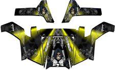 Polaris RZR 800 UTV Graphics Decal Wrap 2011 - 2014 Grim Reaper Revenge Yellow