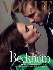 VOGUE Paris December 2013/January 2014,Victoria David Beckham  COVER 2 NEW