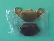 Kawasaki 86 87 88 KX500 Gold Sintered Rear Brake Pads K66 1986 1987 1988 KX 500