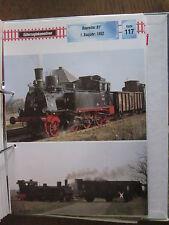 Dampflok Archiv G117: 36, 39-43 BLE Braunschweig BR 01.1 DR