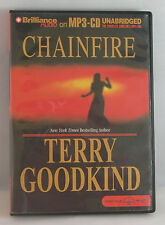 Chainfire Bk. 1 by Terry Goodkind (2005, CD, Unabridged)
