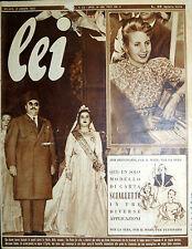 * lei N° 33/ 12/AGO/1952 * Rivista di moda *