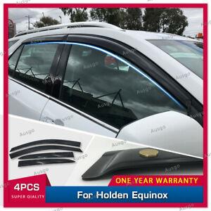 AUS Luxury Weather Shields Weathershields Door Visor for Holden Equinox 2017+ #T