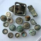 WW1 Group Imperial German Army Prussian Crown Buttons Battlefield Relic Finds