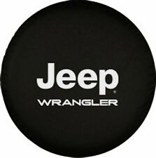 "Spare Tire Cover Series Jeep Wrangler Tire Cover 32""-33"" Heavy Denim Vinyl"