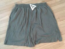 Phat Buddha Long Olive Green Shorts Women Size XL Basketball Baggy Pockets NWT