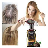 200ml Grey Reverse Hair Color Shampoo Polygonum Multiflorum Ginger Hair Care