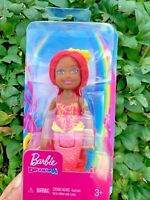 Barbie Dreamtopia Chelsea Mermaid Doll Coral * NEW *