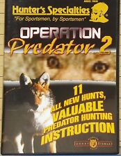 """""""Operation Predator 2"""" (Hunters Specialties DVD 2004) 11 Hunts + Instruction"""