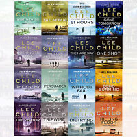 Jack Reacher Series Lee Child 16 Books Collection Set NEW The Affair,Without Fai