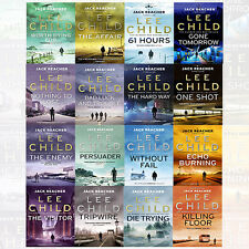 Jack Reacher Series Lee Child 16 Books Collection Set The Affair Without FAI