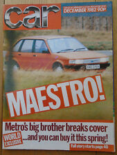 Car Dec 1982 Mazda 323 1500GT vs Renault 5 Turbo vs Colt 1.4 Turbo