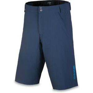 Dakine Men's Syncline Mountain Bike Cycling Shorts w/ Liner Midnight Blue Large