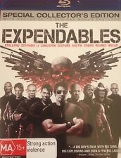 The Expendables Stallone Statham Willis Li Rourke Lundgren Region B Blu-Ray