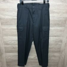 Cintas Comfort Flex Navy Blue Cargo Work Pants Size 30x30  #270-20 Loose Fit