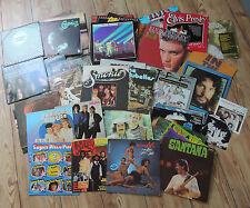 50 diverse Schallplatten/ Vinyl-Sammlung, Rock/Pop namhafter Bands & Künstler!