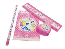 Disney Princess Girls Stationery Pack Birthday Party/Loot Bag Fillers Favours