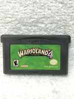 Wario Land 4 (Nintendo Gameboy Advance) Authentic Tested Game Only