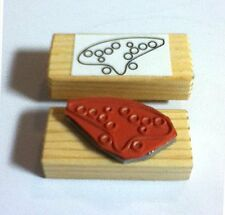 Ocarina Fingering Rubber Stamp - 12  hole tablature stamp for beginners!