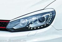 Scheinwerferblenden Scheinwerferblendensatz ABS für VW Golf 6 Typ 1K