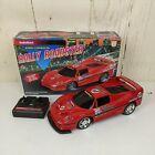 Vintage 1997 RadioShack R-C Remote Controlled Rally Roadster Ferrari F50 EUC