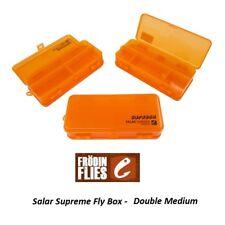 Mikael Frodin Salar suprême Fly Box Double Medium SUPB-DM * 2018 Stock *