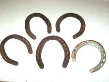 Lot of 5 USED South Texas HORSESHOES Wicca Pagan Amulet GOOD LUCK CHARM