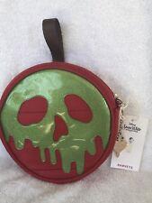 Disney Harveys Snow White Green Poison Apple Glitter Crossbody Seatbelt Bag NWT