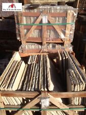 Sandstone Paving Slab Calibrated Fossil Mint - £19 per metre - Free Delivery TOS