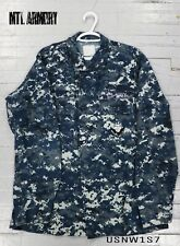 US Army NWU i Type 1 Combat Shirt Size M-L Military