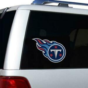 Tennessee Titans Die Cut Window Film [NEW] NFL Sticker Decal Truck Car Cling