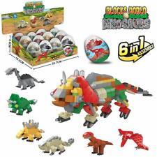 Dinosaur Building Blocks 12pcs Mini Dinosaur Building Blocks for Kids Gift LUIGY