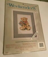 Weekenders Bearing Bouquets Countless Cross Stitch Mat Included USA