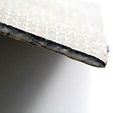 Foglio alluminio paracalore isolante termico adesivo 50cm x 30cm per carena moto