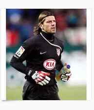 Uhlsport AKKURAT SOFT $45 Half-Negative Pro Soccer portero Goalkeeper Gloves 10